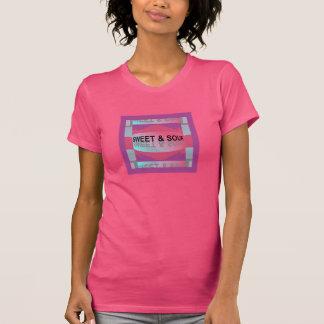 SWEET & SOUR Shirt -Women-Pink/Purple/Gray