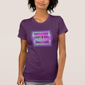 SWEET & SOUR Shirt -Women-Pink/Purple/Green