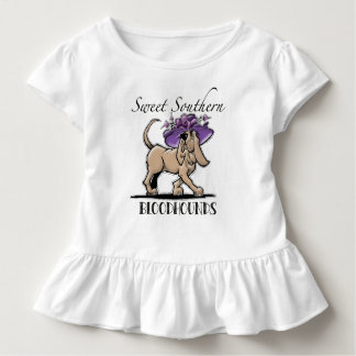 Sweet Southern Bloodhound Baby Tshirt