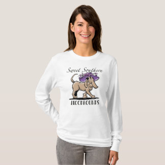 Sweet Southern Bloodhound Tshirt