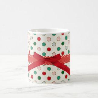 Sweet Sparkle Red Bibbon Christmas Mug
