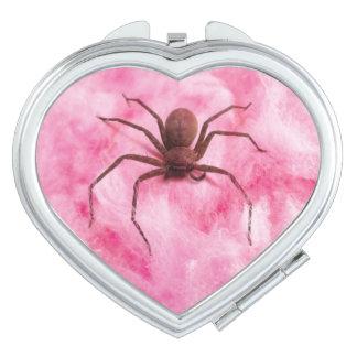 Sweet spider vanity mirrors