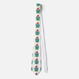 Sweet Spotted Monster Christmas Tie