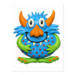 Sweet Spotted Monster Postcard