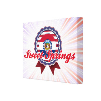Sweet Springs, MO Stretched Canvas Prints