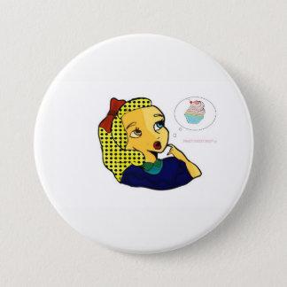 sweet street shop 7.5 cm round badge