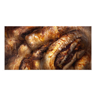 Sweet - Strudel - Almond Strudel Abstract Customised Photo Card