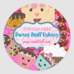 Sweet Stuff Candy Cake Cookies and Cupcake Sticker