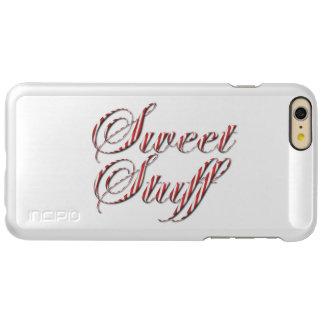 Sweet Stuff Candy Cane Stripe Incipio Feather® Shine iPhone 6 Plus Case