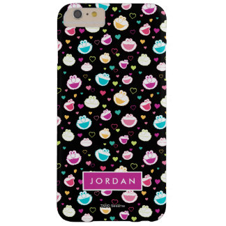 Sweet Stuff Heart Pattern | Add Your Name Barely There iPhone 6 Plus Case