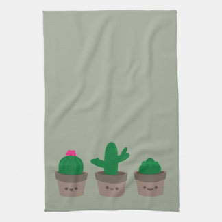Sweet Succulent Tea Towel