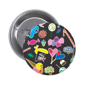 Sweet Sugar Candy Button