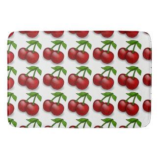 Sweet Summer Cherries Bath Mat