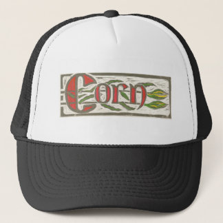 Sweet Summer Corn Blockpring Trucker Hat
