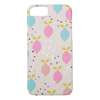 Sweet summer lemon colorful citrus fruit iPhone 8/7 case