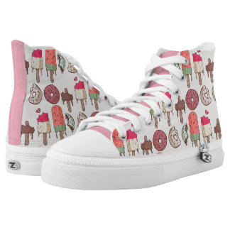 sweet summer printed shoes