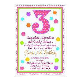 3rd Birthday Invitations & Announcements | Zazzle.com.au