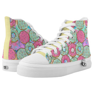 Sweet Sweet Donuts Shoes Printed Shoes