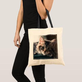 Sweet Tabby Tote Bag