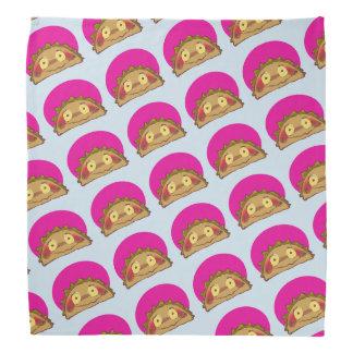 sweet taco character funny cartoon bandana