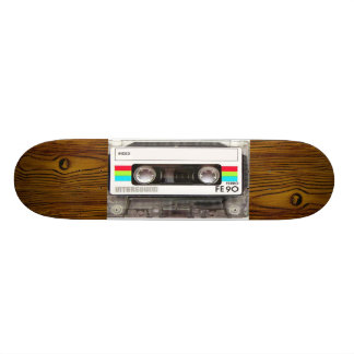 sweet tape deck 20.6 cm skateboard deck