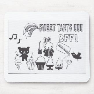Sweet tarts BFF Mouse Pad