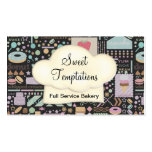 Sweet Temptations Bakery Boutique Business Cards