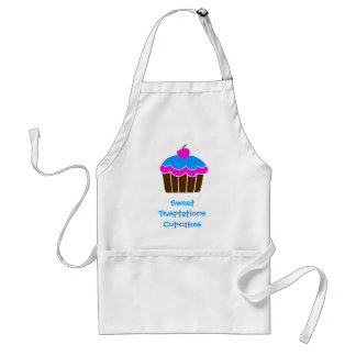 Sweet Temptations Cupcakes Apron
