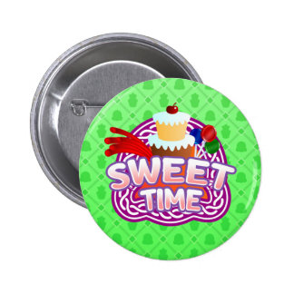 Sweet Time green Button
