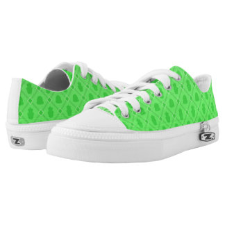 Sweet Time green Low Tops