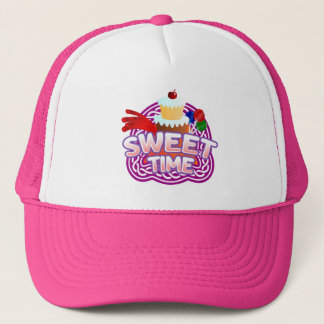 Sweet Time pink Trucker Hat