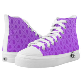 Sweet Time purple High Tops