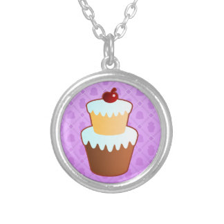 Sweet Time purple Necklace