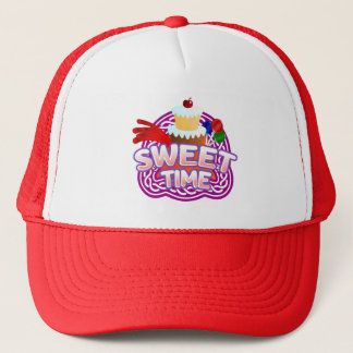 Sweet Time red Trucker Hat