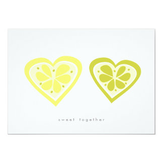 Sweet Together Save the Date 13 Cm X 18 Cm Invitation Card