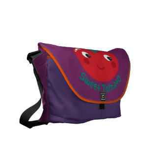 Sweet Tomato Courier Bag