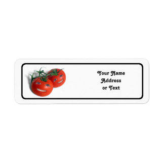 Sweet Tomatoes Return Address Label