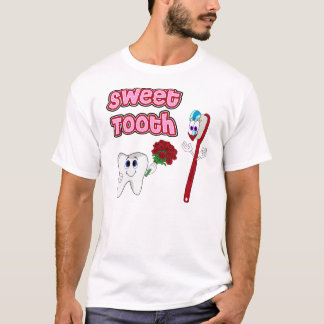 Sweet Tooth Cute Cartoon T-shirts For Women