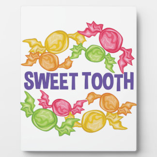 Sweet Tooth Display Plaque