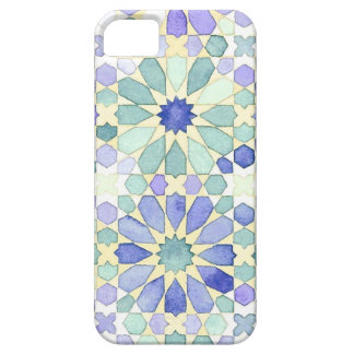 Sweet Tranquility Islamic geometry phone cover iPhone 5 Cases