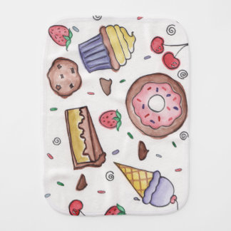 Sweet Treat Burp Cloth