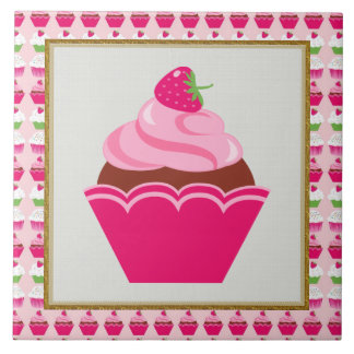 Sweet Treat cupcake kitchen or restraunt tile