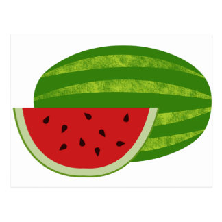 Sweet Treat Watermelons Postcard
