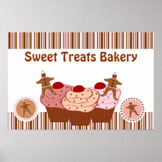Sweet Treats Bakery Business Poster