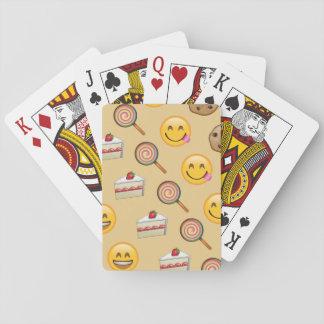 Sweet Treats Emojis Playing Cards