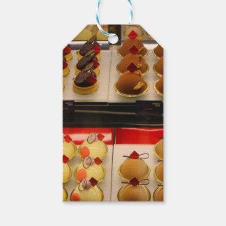 Sweet treats on display minus one gift tags