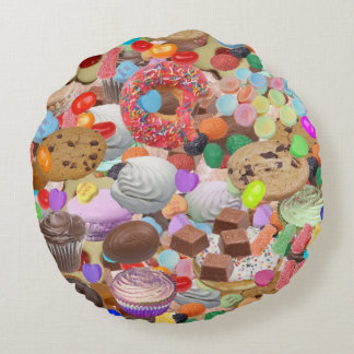 Sweet Treats Round Cushion