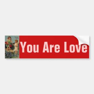 Sweet Valentine bumper sticker
