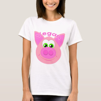 Sweet Vegan pig/Pig/Go Vegan T-Shirt