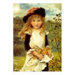 Sweet Victorian Style Gift Tags The Daffodil Girl Business Card